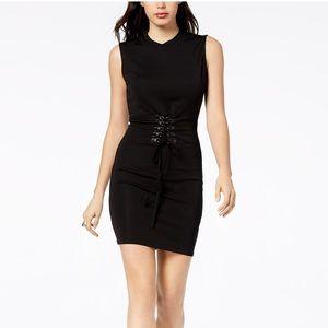 Bardot corset midi